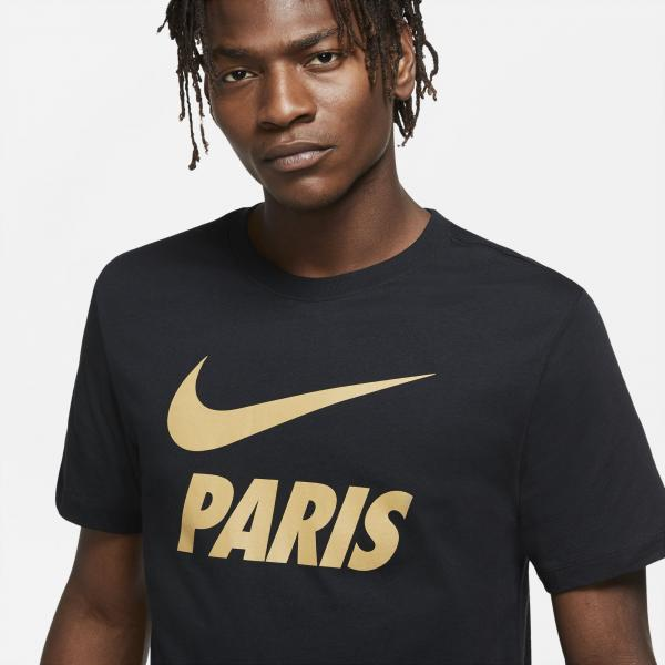 Nike T-shirt  Paris Saint Germain   20/21 Nero Tifoshop