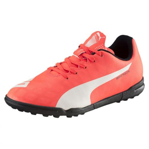Puma Scarpe Calcetto Evospeed 5.4 Tt Jr  Junior Arancione Tifoshop