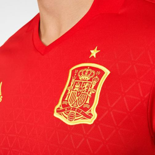 Adidas Jersey Home Spain   16/18 Scarlet/Yellow Tifoshop