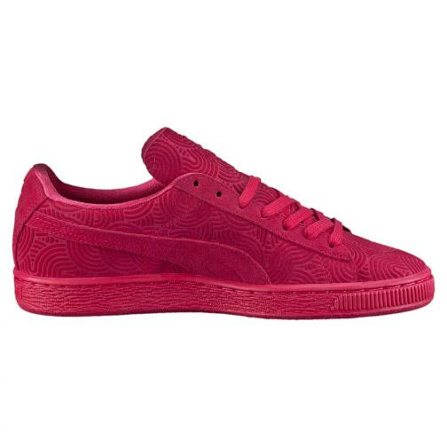 Puma Shoes Suede Classic + Colored Wn's  Woman rose red-rose red Tifoshop