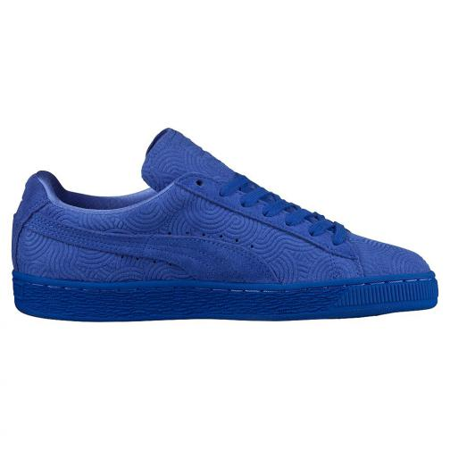 Puma Shoes Suede Classic + Colored Wn's  Woman dazzling blue-dazzling blue Tifoshop