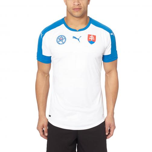 Puma Shirt  Slovakia   16/18 white-puma royal-HOME Tifoshop