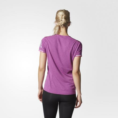 Adidas T-shirt Supernova Climachill  Woman Chill Shock Pink Mel Tifoshop