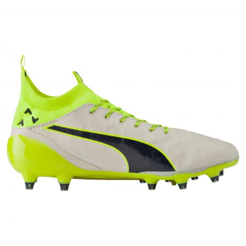 Puma Football Shoes Evotouch Pro Special Edt. Fg birch-peacoat-safety yellow Tifoshop