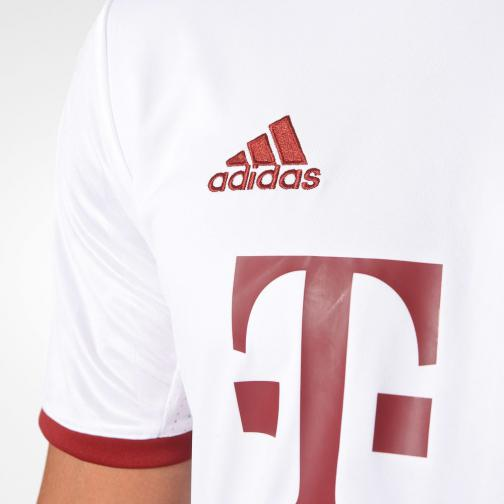 Adidas Jersey Champions League Bayern Monaco   16/17 white/light onix/collegiate burgundy Tifoshop