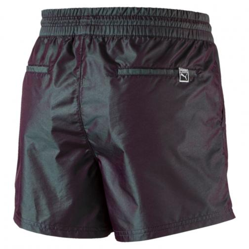 Puma Short Pants Irridescent  Woman Black Tifoshop