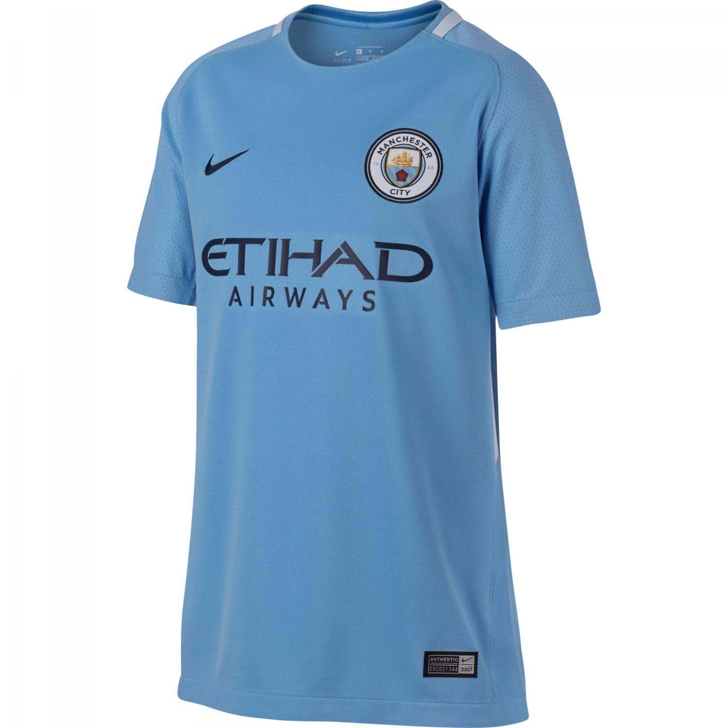 Nike Jersey Home Manchester City Junior  17/18