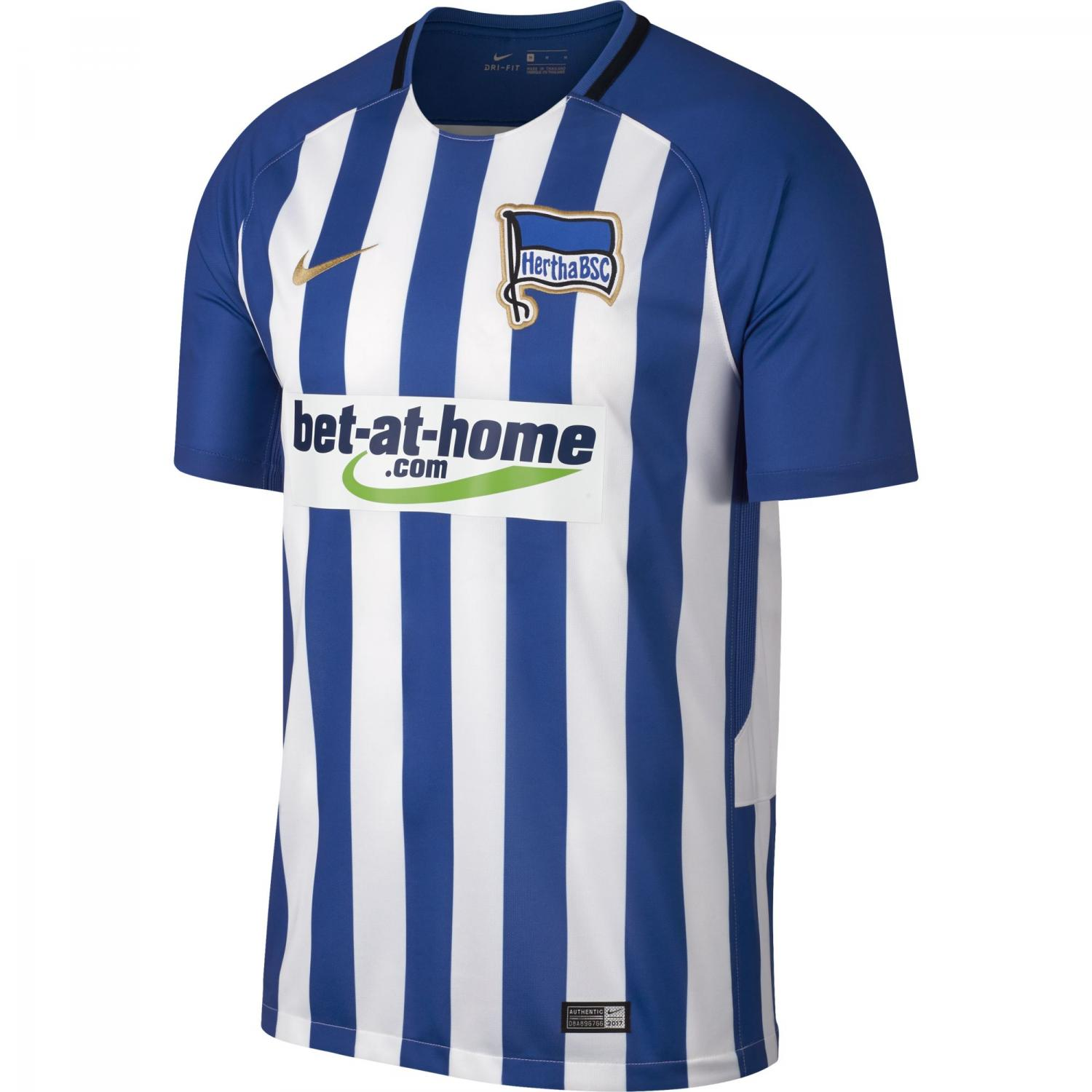 Nike Jersey Home Hertha Berlin   17/18