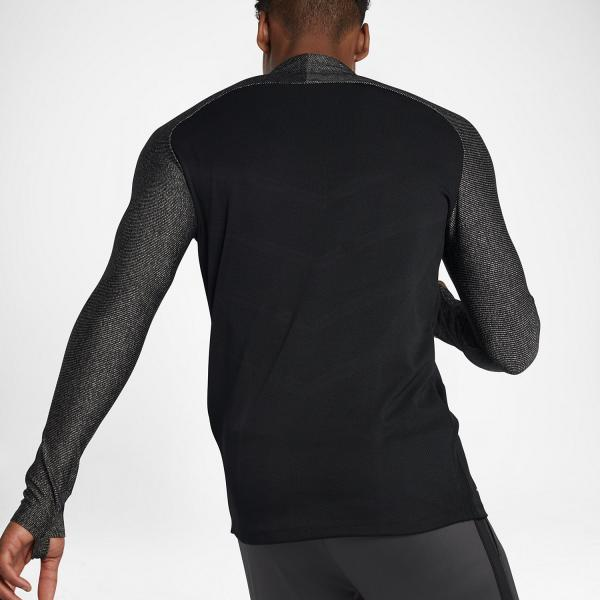 Nike Sweater Aeroswift Strike Football Drill Top BLACK/BLACK/BLACK/WHITE Tifoshop
