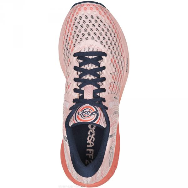 Asics Shoes Noosa Ff 2  Woman SEASHELL PINK/DARK BLUE/BEGONIA PINK Tifoshop