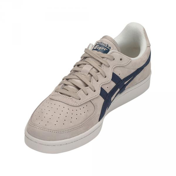 Onitsuka Tiger Shoes Gsm  Unisex FEATHER GREY / DARK BLUE Tifoshop