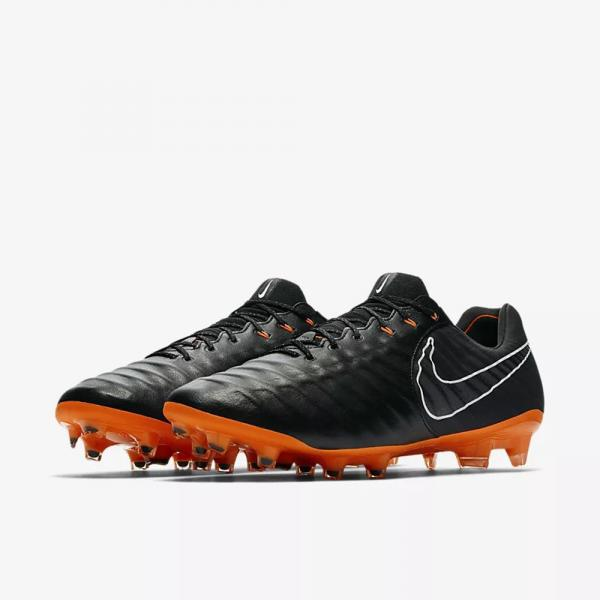 Nike Chaussures De Football Legend 7 Elite Fg BLACK/TOTAL ORANGE-BLACK-WHITE Tifoshop