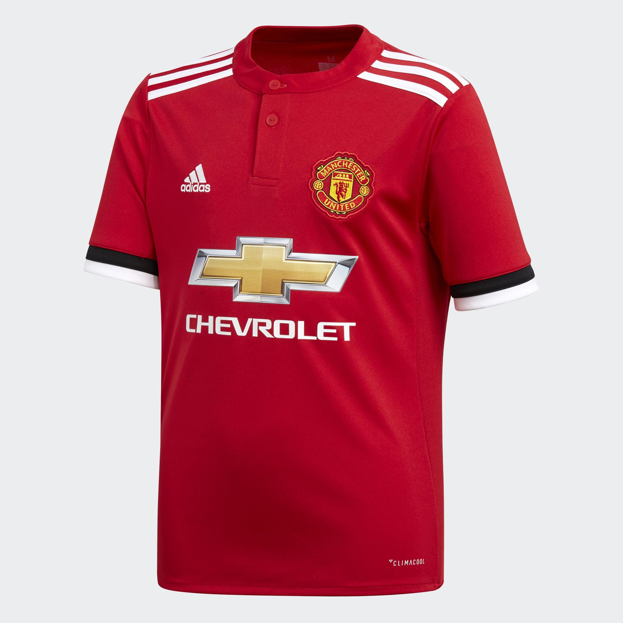 Adidas Jersey Home Manchester United Junior  17/18