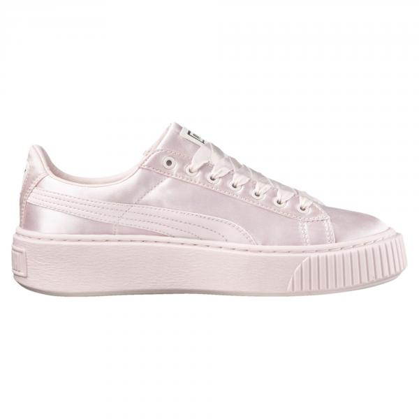 Puma Shoes Basket Platform Tween Ps  Junior PEARL-PEARL Tifoshop