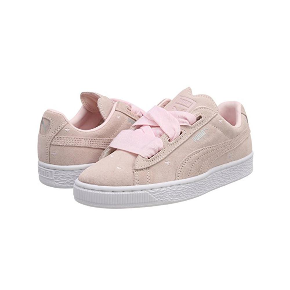 Puma Shoes Suede Heart Valentine  Junior