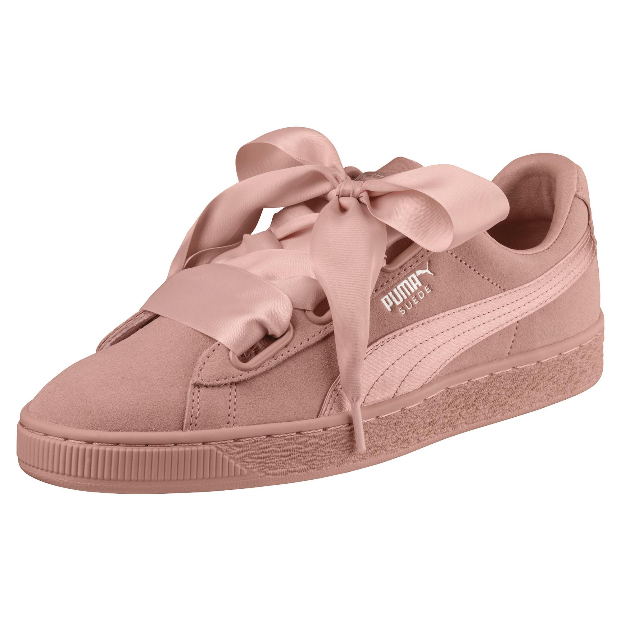 Puma Shoes Suede Heart Ep  Woman