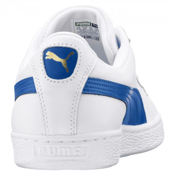 Puma Shoes Basket Classic Lfs PUMA WHITE-TURKISH SEA Tifoshop