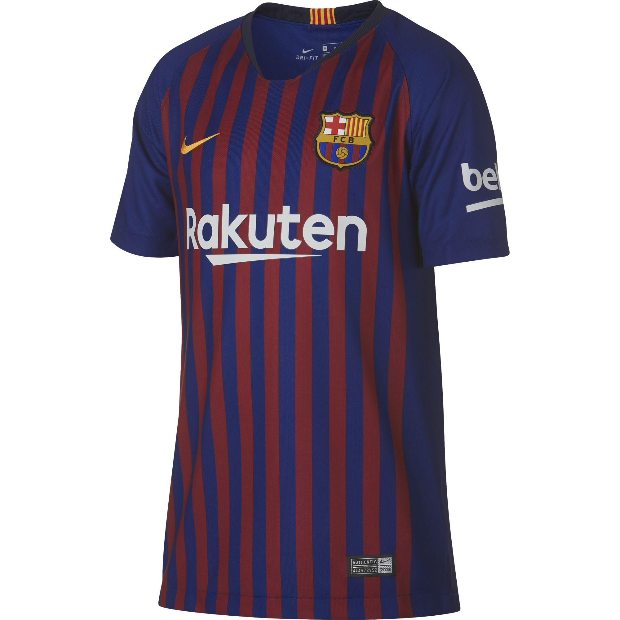 Nike Jersey Home Barcelona Junior  18/19
