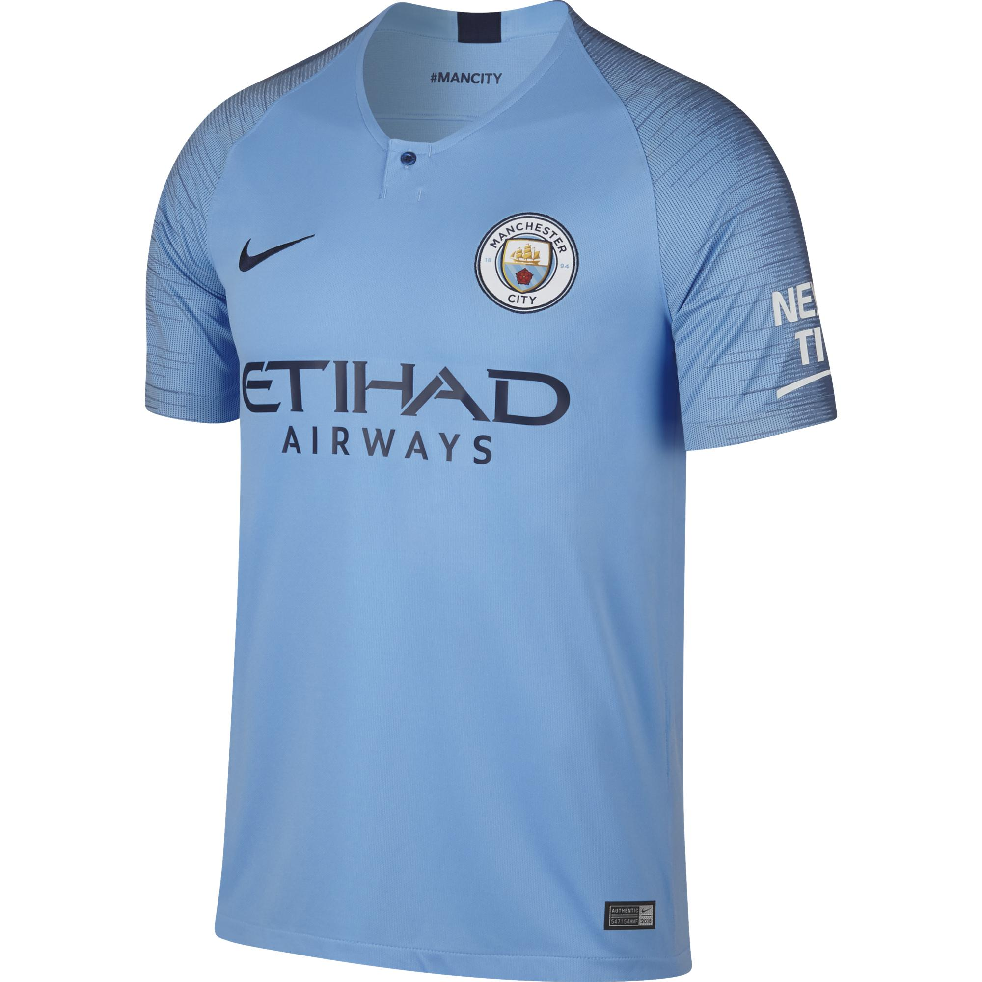Nike Jersey Home Manchester City   18/19