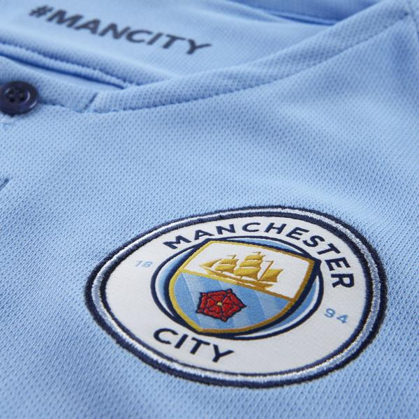 Nike Jersey Home Manchester City Junior  18/19 FIELD BLUE/MIDNIGHT NAVY/MIDNIGHT NAVY Tifoshop
