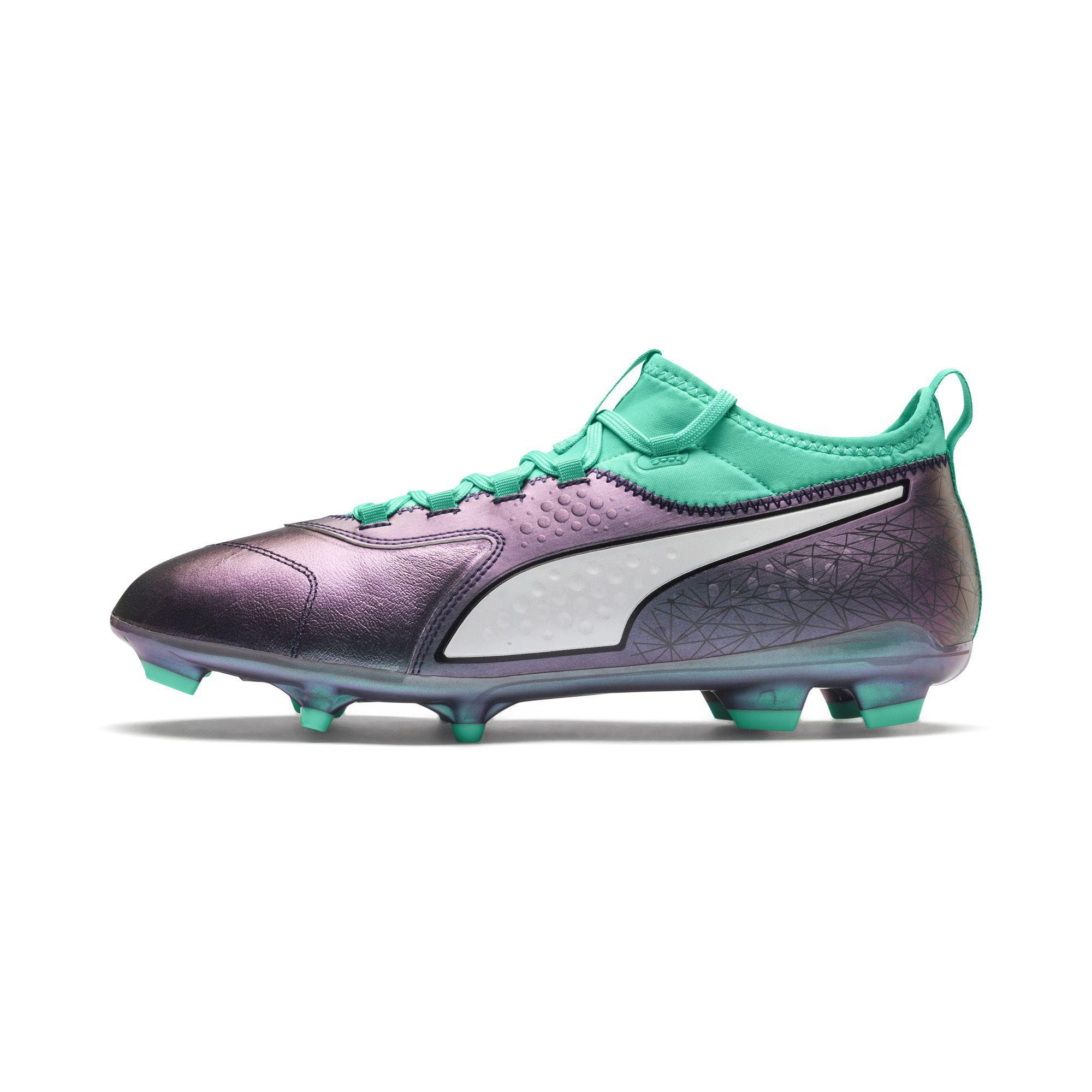 Puma Fußball-schuhe One 3 Illuminate Leather Fg