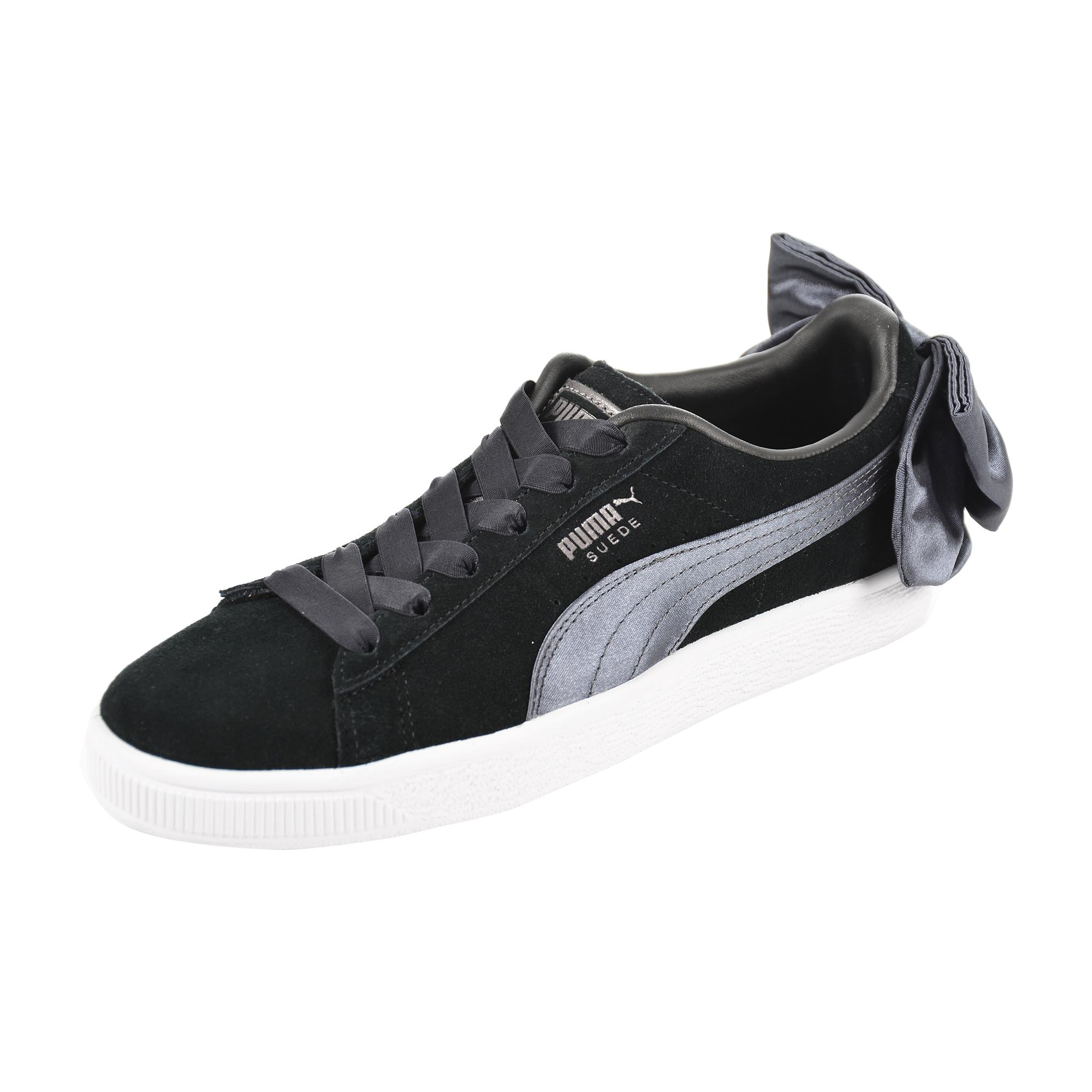 Puma Shoes Suede Bow  Woman
