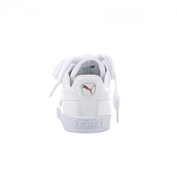 Puma Schuhe Basket Heart Leather  Damenmode PUMA WHITE-ROSE GOLD Tifoshop