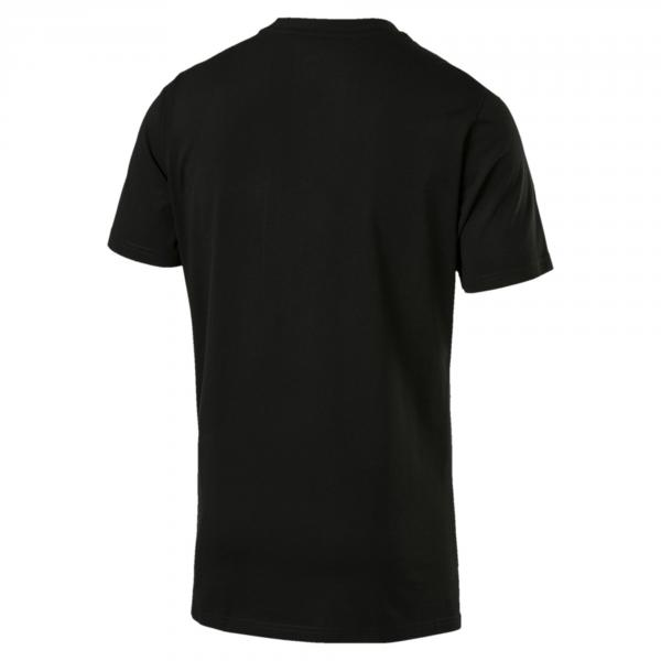 Puma T-shirt Graphic Logo Block COTTON BLACK Tifoshop