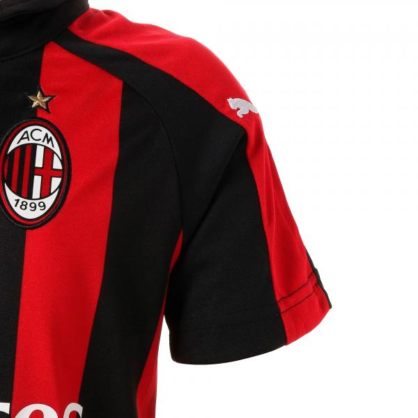 Puma Jersey Home Milan Junior  18/19 TANGO RED-PUMA BLACK Tifoshop