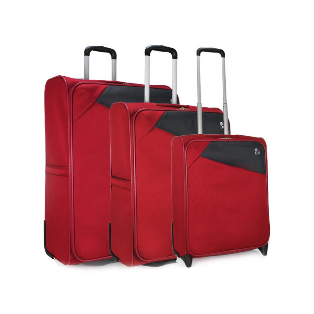 Luggage Sets  DARK RED