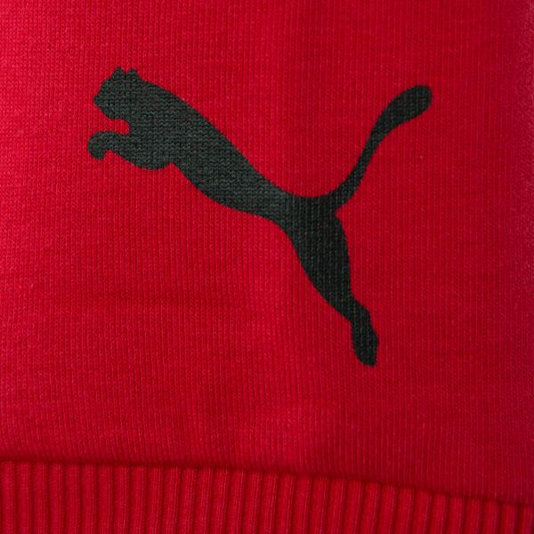 Puma Sweatshirt  Milan Juniormode TANGO RED Tifoshop
