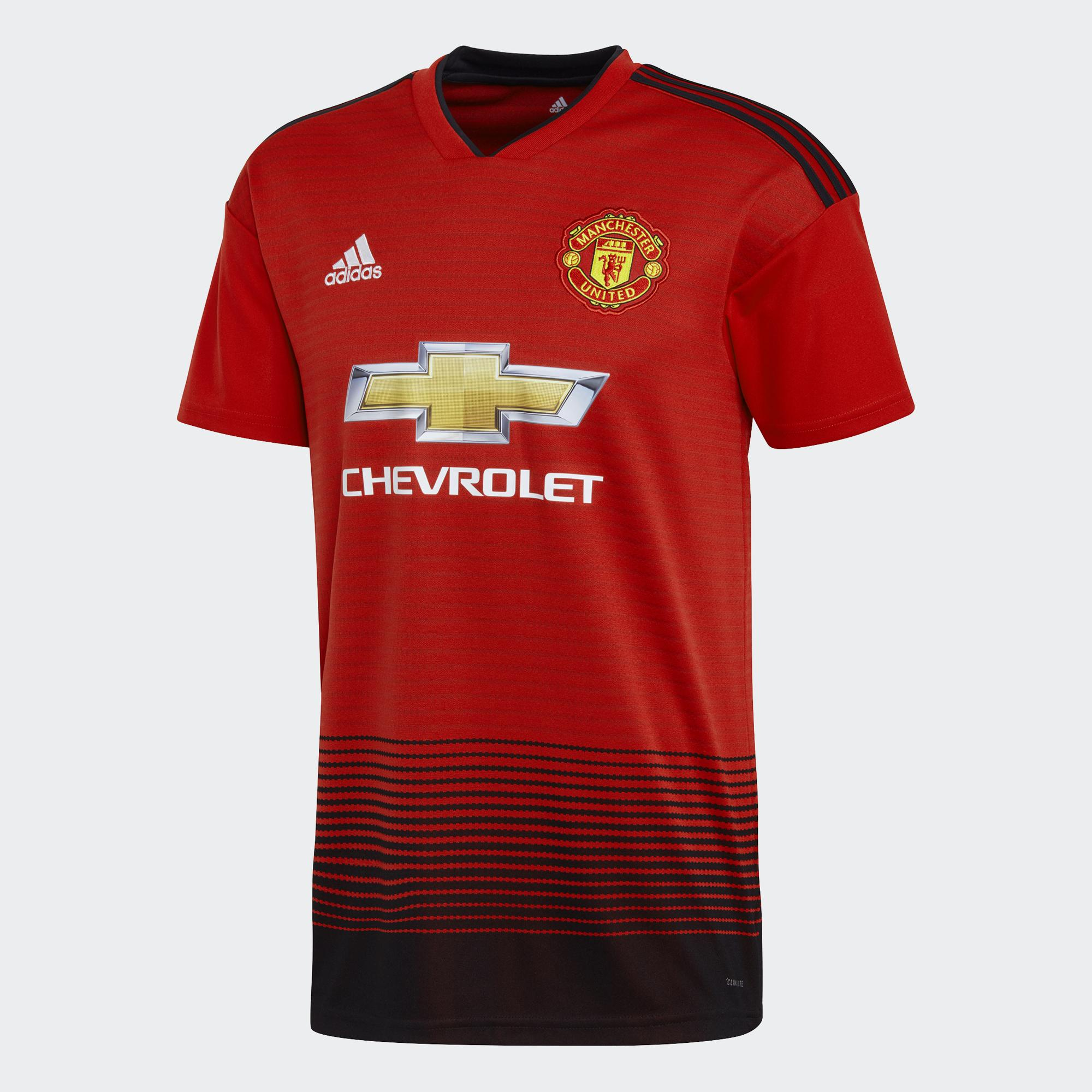 Adidas Shirt Home Manchester United   18/19
