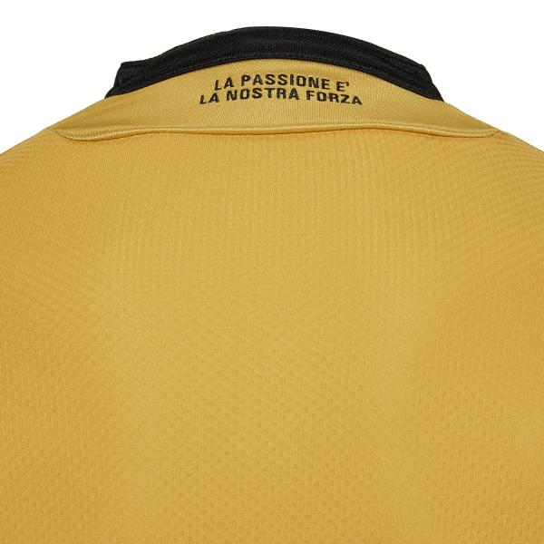 Macron Shirt Away Udinese   18/19 GOLD/BLACK Tifoshop