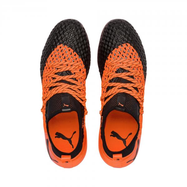 Puma Fußball-schuhe Future 2.2 Netfit Fg PUMA BLACK-SHOCKING ORANGE Tifoshop