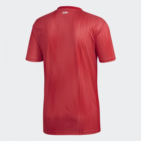 Adidas Jersey Third Real Madrid   18/19 Real Coral / Vivid Red Tifoshop