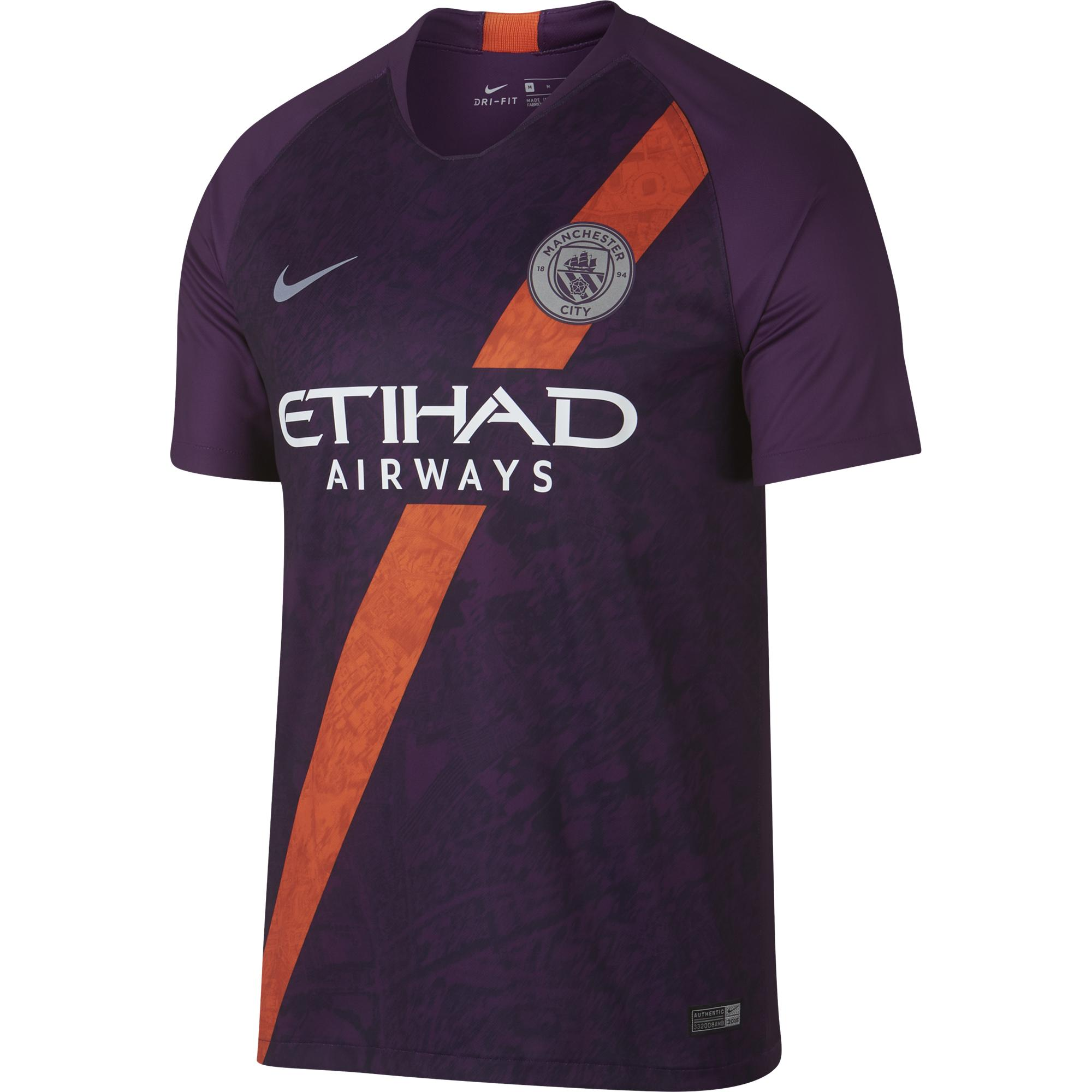 Nike Jersey Third Manchester City   18/19