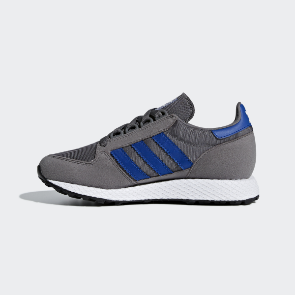 Adidas Originals Shoes Forest Grove  Junior Grey Four / Collegiate Royal / Ftwr White Tifoshop