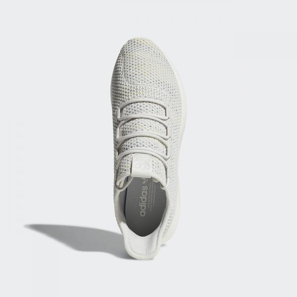 Adidas Originals Schuhe Tubular Shadow Ck grey one f17/cloud white/raw green Tifoshop
