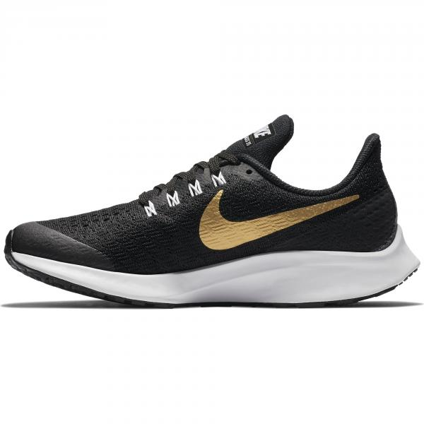 Nike Schuhe Air Zoom Pegasus 35 Sh Gs  Juniormode BLACK/METALLIC GOLD-WHITE Tifoshop