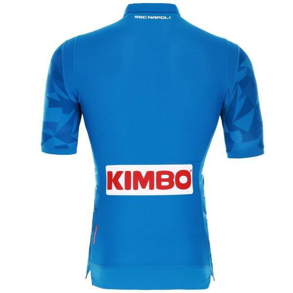 Kappa Shirt Home Naples   18/19 Light Blue Tifoshop