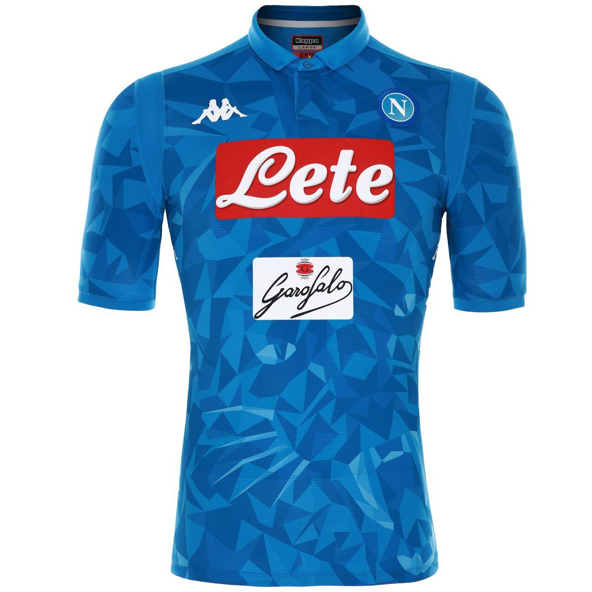 Kappa Shirt Home Naples   18/19