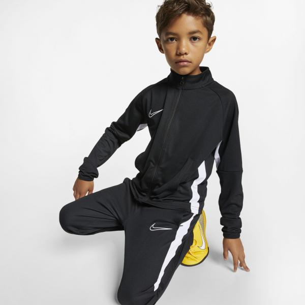 Nike Trainingsanzug Academy  Juniormode BLACK/WHITE/WHITE Tifoshop