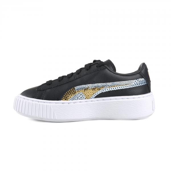 Puma Scarpe Basket Platform Trailblazer Sqn Ps  Junior Nero Tifoshop