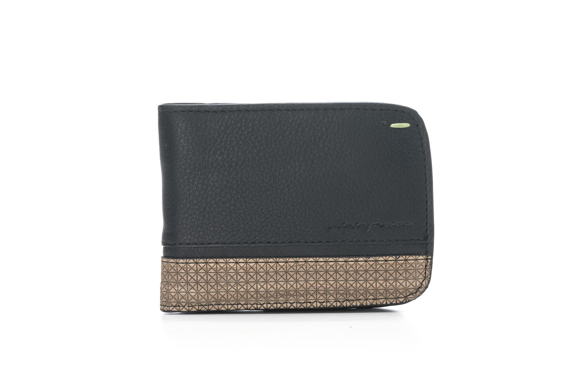Wallet 6 Cards And Coins Folio By Pininfarina Walnut
