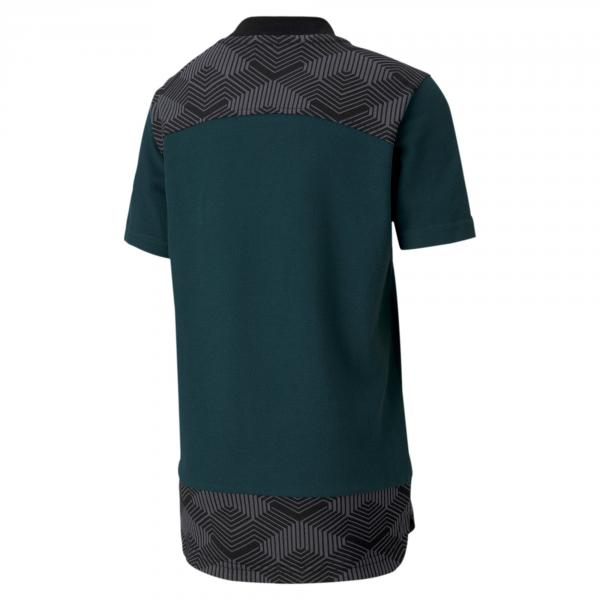 Puma Polo  Italia Junior Verde Tifoshop