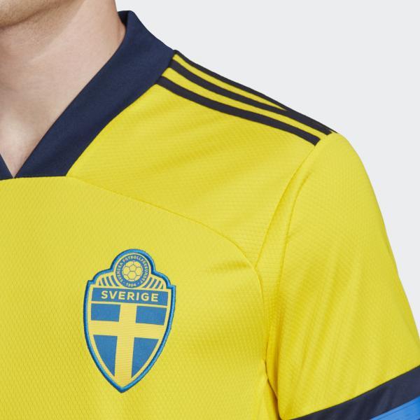 Adidas Maglia Gara Home Svezia   20/22 Giallo Tifoshop