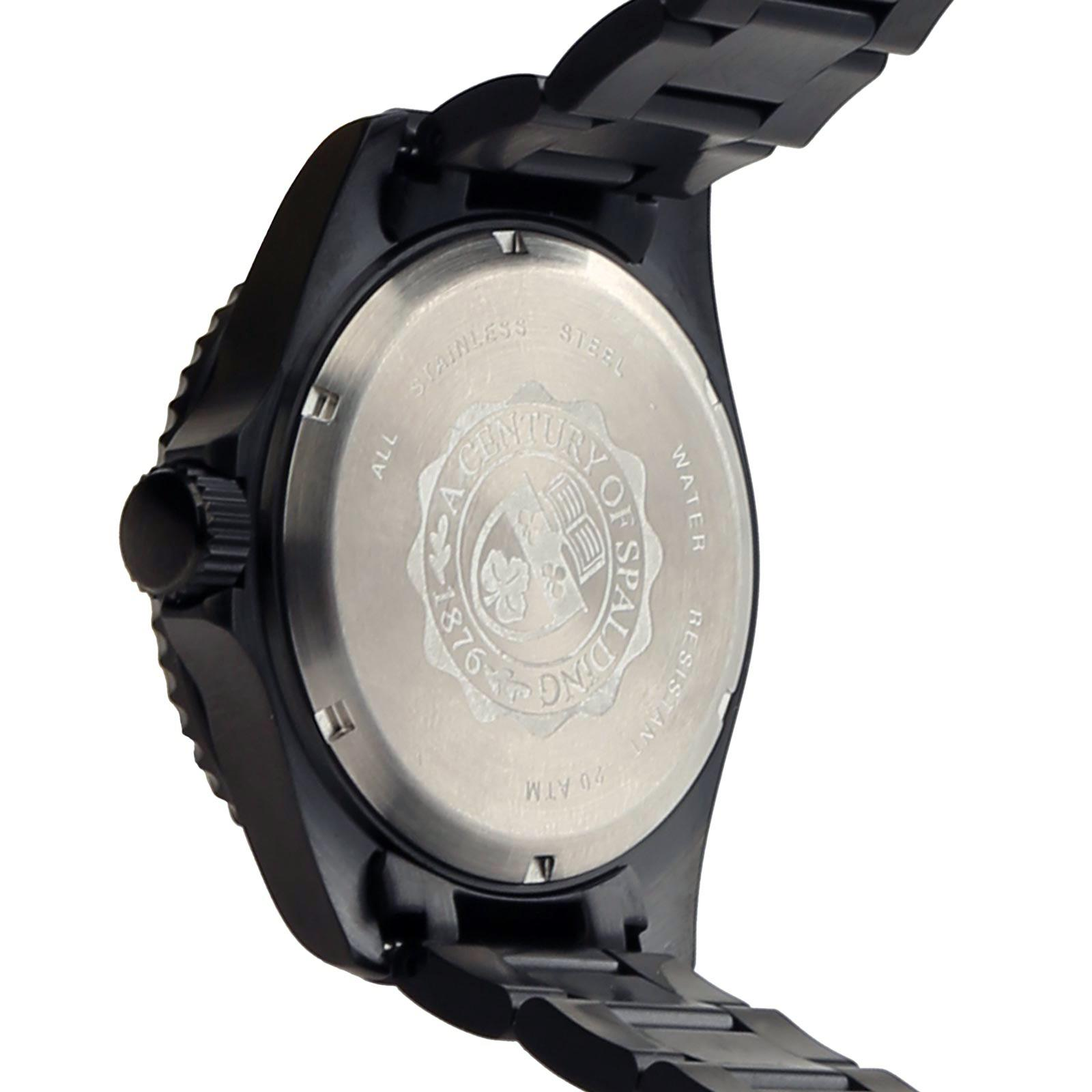 Diver Man Watch BLACK