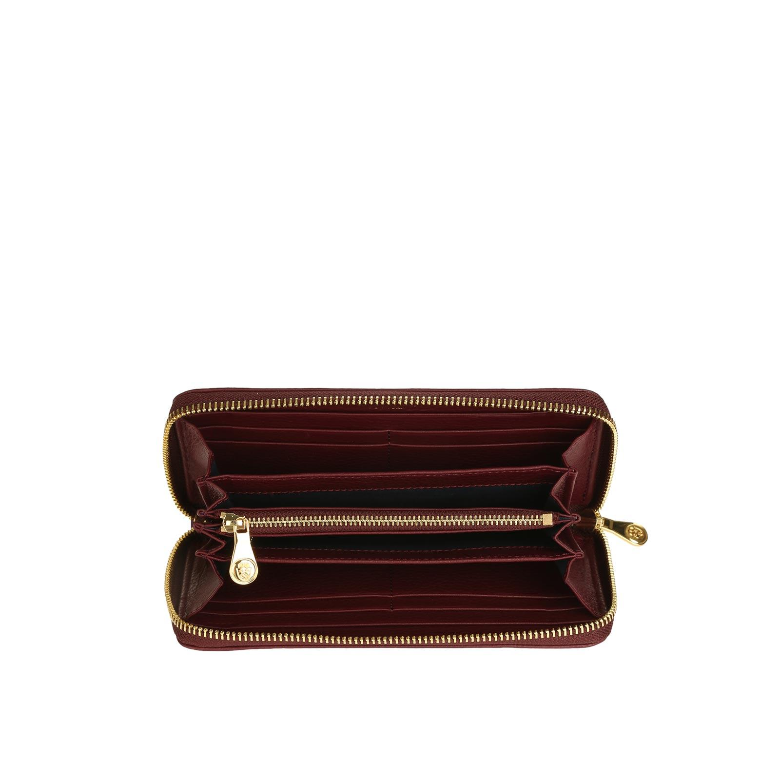 Tiffany Zipped Wallet BORDEAUX