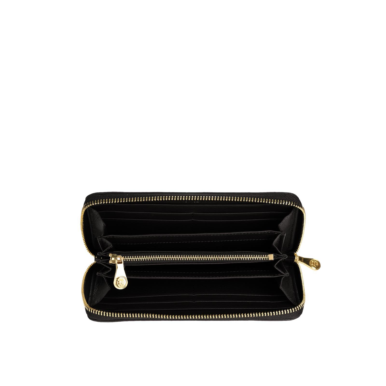 Tiffany Zipped Wallet BLACK