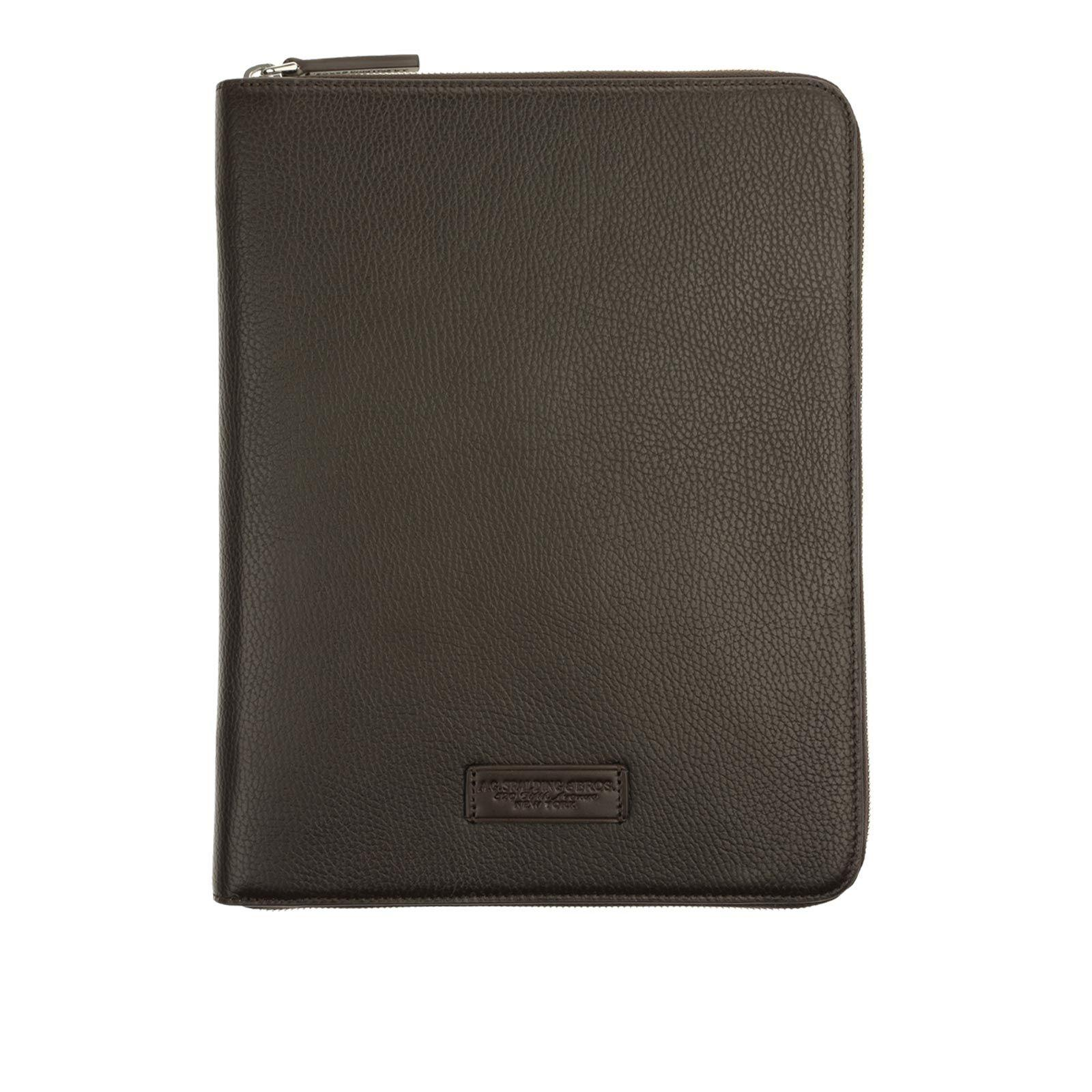 Note Book Holder A4 Vermont DARK BROWN